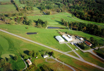 Arial view of our Saratoga Springs Golf Course located in Upstate New York